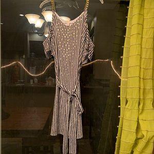 Michael Kors cold shoulder dress